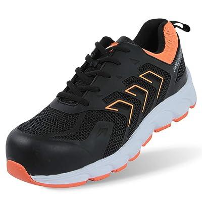 OUXX Work Steel Toe Shoes Men's Indestructible Shoes, Safety Shoes Working Shoes: Shoes