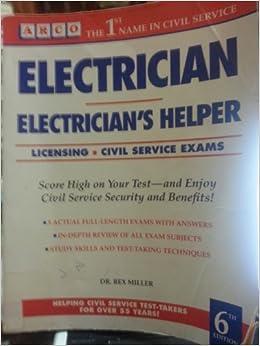 Electrician/Electrician's Helper (Arco Civil Service Test Tutor)