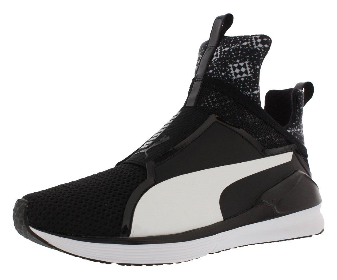 PUMA Fierce Kal Grf Women's Training Shoes Size US 6.5, Regular Width, Color Black/White