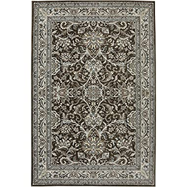 Karastan Euphoria Newbridge Woven Rug, 5'3x7'10, Brown