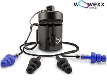 woowexx earplugs+ carry case