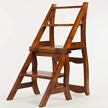WLG Silla de comedor de madera maciza, banco de ocio ...