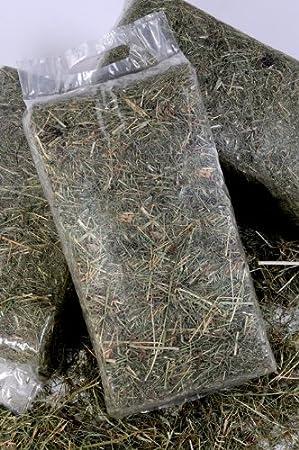 Foin de prairie en sachet de 1kg heukoenig.de