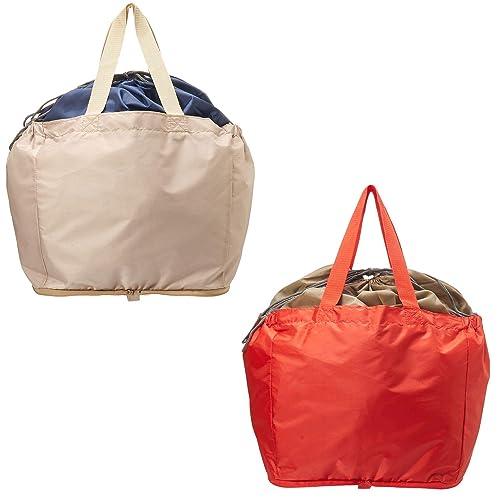 AOTOBAG 携帯用 洗える折りたたみレジカゴマイバッグ