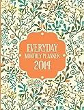 Everyday Monthly Planner 2014, Speedy Publishing Llc, 1630224111
