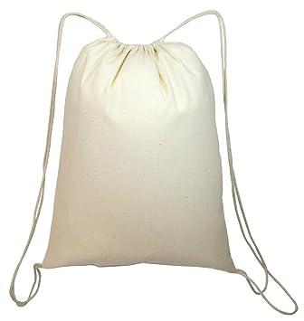Shop4bag Color Me - Bolsas de algodón con cordón, ideales ...