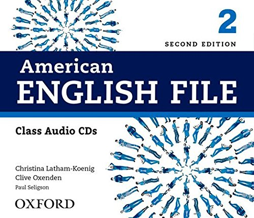 American English File 2E 2 Class Audio CDs