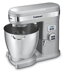 Cuisinart SM-70BC 7-Quart 12-Speed Stand Mixer, Brushed Chrome (Certified Refurbished)