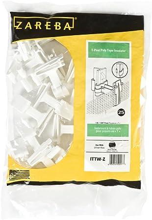 Pack of 250 Zareba Systems ITTW-Z Poly Tape Insulator