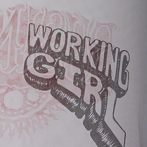 Off-White Mujer OWAA020S173742150188 Blanco Algodon T-Shirt