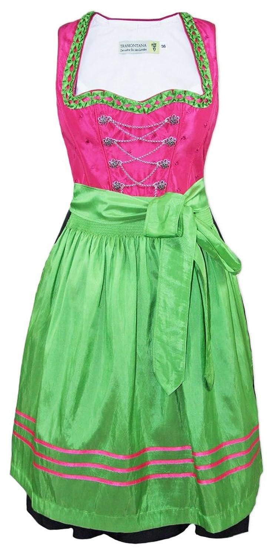 Tramontana Dirndl Nadja - Pink Grün 60cm - Schönes Kleid von Country Line
