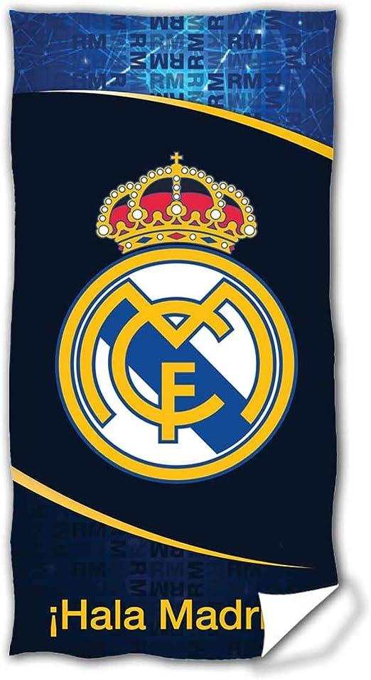 Real Madrid RM185012. Toalla de baño y Playa de Algodón 100% de ...