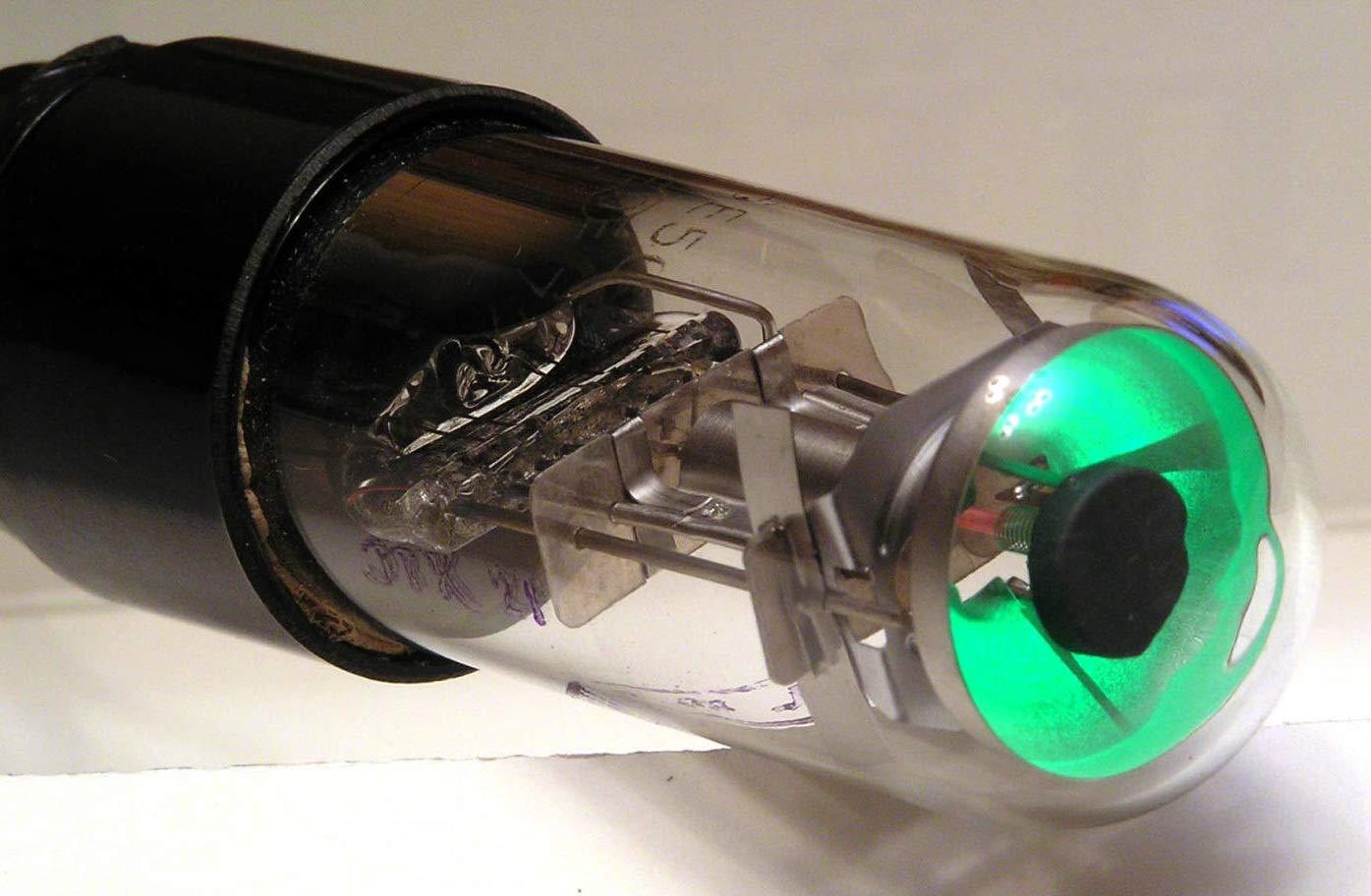 6E5S Magic Eye 1 Shadow Angle Indication Soviet Tube 6E5C > 6E5G / 6G5G