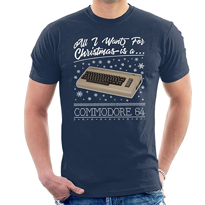All I Want For Christmas is a C64 T-shirt, S to XXL