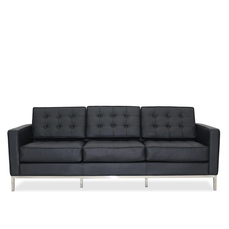 SuperStudio Lo + deModa mies sofá de 3 plazas Part, Acero ...