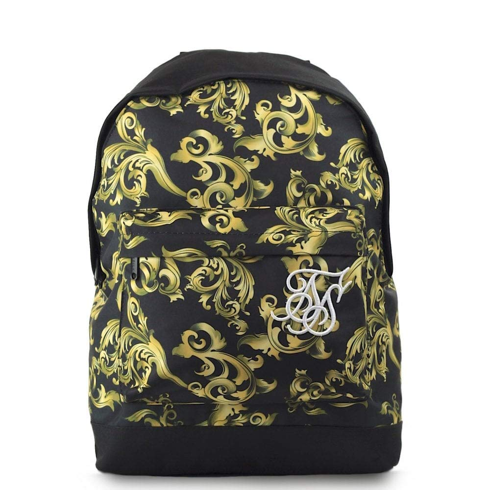 Sik Silk SS-13247 Pouch Backpack - Venetian Gold Black: Amazon.es: Equipaje