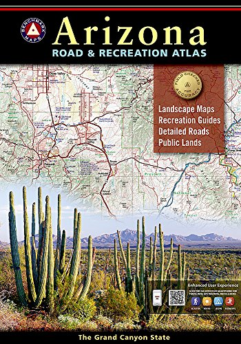 Arizona Benchmark Road; Recreation Atlas for dispersed camping, remote camping, boondocking