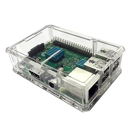 raspberry pi transparent case