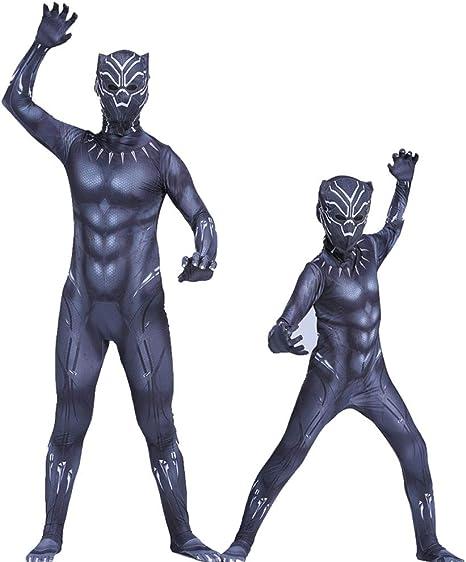 Ropa de pantera negra Marvel Heroes Avengers Adulto Cosplay ...