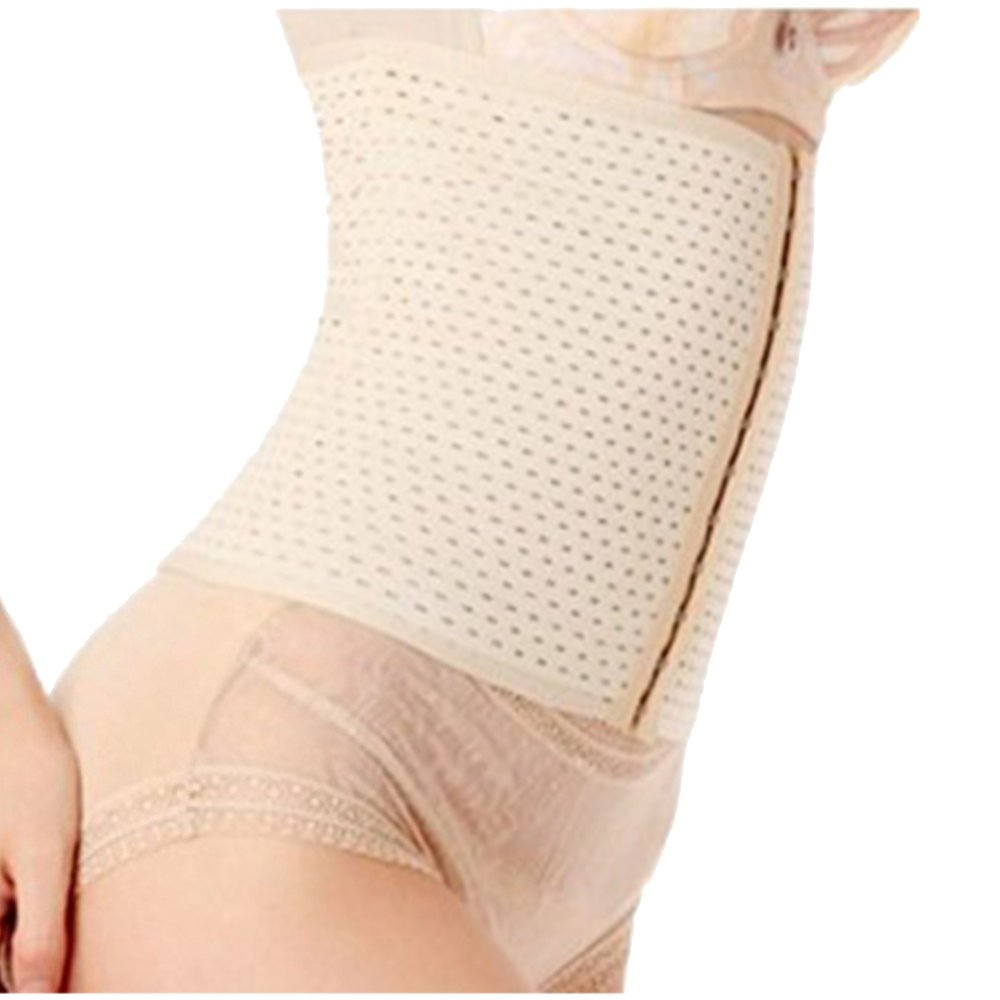 PU Health Pure Acoustics New 3 in 1 Ventilated Breathable Posture Waist Cincher Nude, Small/Medium (Pack of 12)