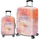 gymtop-direct スーツケースカバー 伸縮弾性素材 トラベルダストカバー キャリーカバー 美人模様 スーツケース保護カバー ラゲッジカバー 通気性 傷防止 防塵カバー 1枚