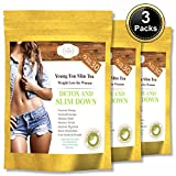 YOUNGYOU SLIM TEA - FAST DETOX AND CLEANSE WEIGHT LOSS TEA. APPETITE SUPPRESSANT COLON CLEANSER BODY DETOX - WEIGHT LOSS