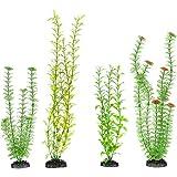 Imagitarium Variety Pack Background Plastic Aquarium Plants, X-Large, Green