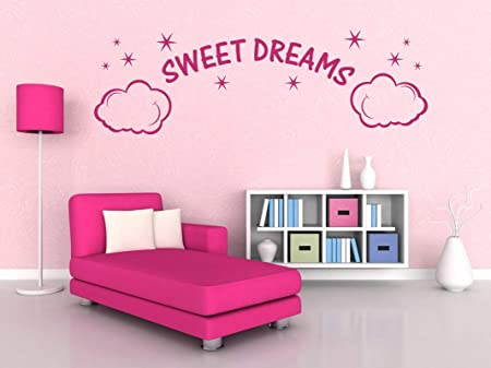 76dinahjordan Sweet Dreams Wall Quote Girls Room Quotes Girl Room