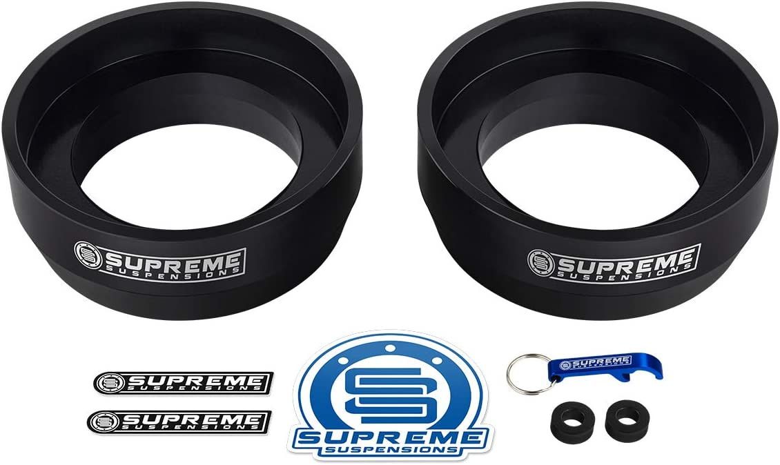 Supreme Suspensions 4WD Non-SR5 Heavy Duty Suspension Lift Kit 2 Rear Lift Spring Spacers Full Lift Kit for 1996-2002 Toyota 4Runner 3 Front Lift Strut Spacers
