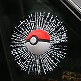 3D Pokemon pikachu Pokeball Glas Autoaufkleber Aufkleber Sticker Abziehbild emblem