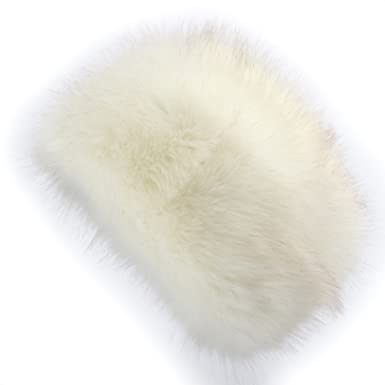 62b04967 YANIBEST Cossack Russian Style Faux Fur Hat for Ladies Winter Hat for Women  L