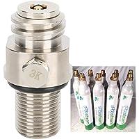 Soda-klep, Soda-cilinderklep, eenvoudige installatie Soda-accessoires duurzame CO2-cilinder voor SodaStream