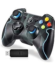 Mando para PC, EasySMX Mando Inalámbrico PS3 Gamepad Wireless Compatible con Windows XP y Vista, Windows 8, PS3, Android y Operación Rango hasta 10M