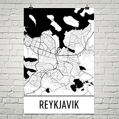 Reykjavik Poster, Reykjavik Art Print, Reykjavik Wall Art, Reykjavik Map, Reykjavik City Map, Reykjavik Iceland City Map Art,Reykjavik Gift,Reykjavik Decor,( 12
