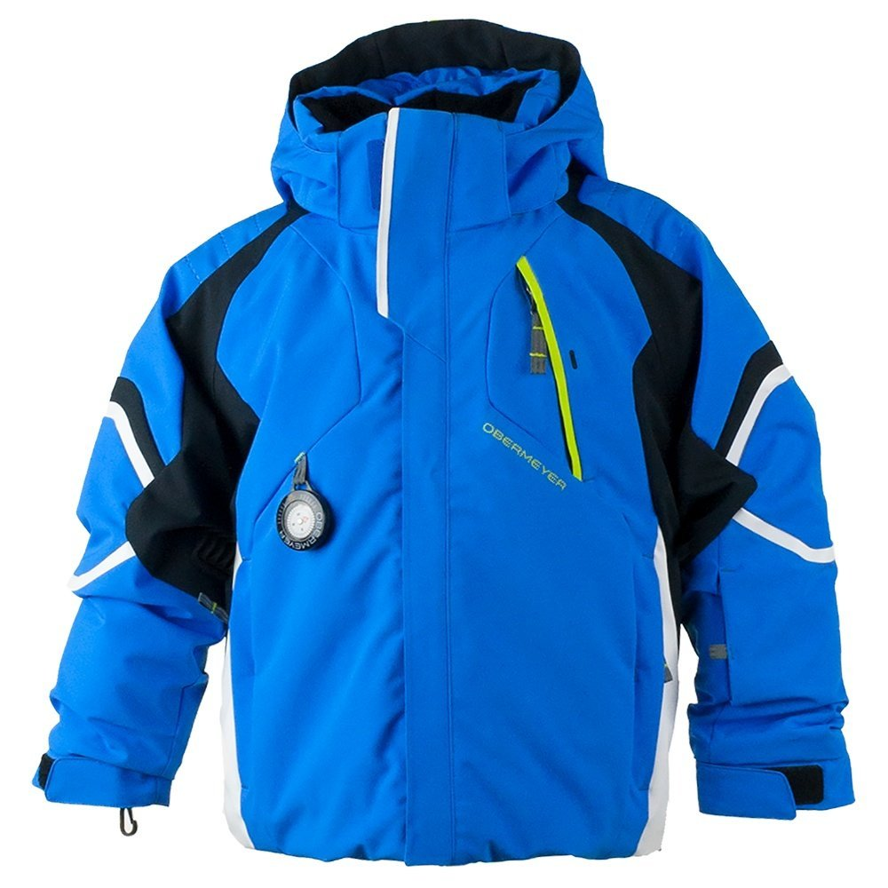 Obermeyer Kids  Baby Boy's Patrol Jacket (Toddler/Little Kids/Big Kids) Stellar Blue 4T