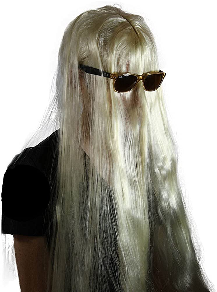 Amazon.com: My Costume Wigs Men's Cousin it Wig (Blonde) One Size fits all:  Clothing