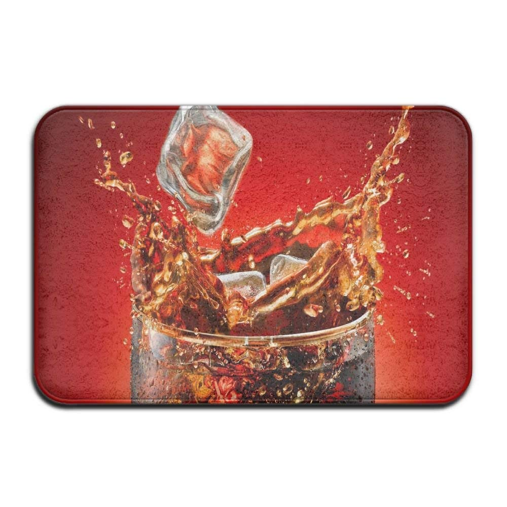 Coca Cola Non-Slip Entrance Indoor Outdoor Kitchen Rug Mat Door Mat 60x40cm