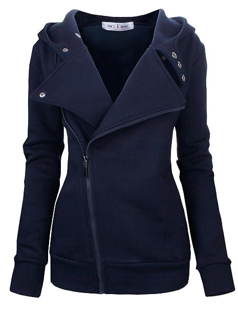 Toms Ware - Sudadera con capucha - chaqueta - para mujer Azul azul marino
