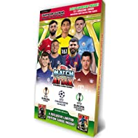 Topps Match Attax Champions League adventskalender 2021/22 + 40 verzamel-it hoezen Sleeves