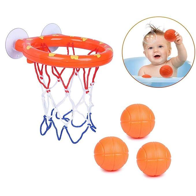 Amasawa Mini Baloncesto de Baño,Canasta Baloncesto Infantil ...