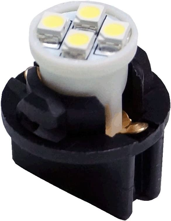 PA 6x T10 168 194 Led instrument Panel Dash Light Bulb 1//2 Twist Lock Socket 12V Ice Blue