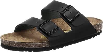 Birkenstock Arizona Cuero Ancho, Zapatos con Hebilla Unisex Adulto