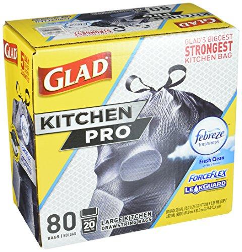 Glad Forceflex Kitchen Pro 20 Gallon