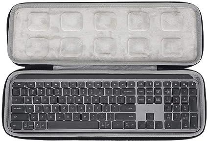 winnerruby Funda de teclado EVA para teclado Logitech MX Keys ...