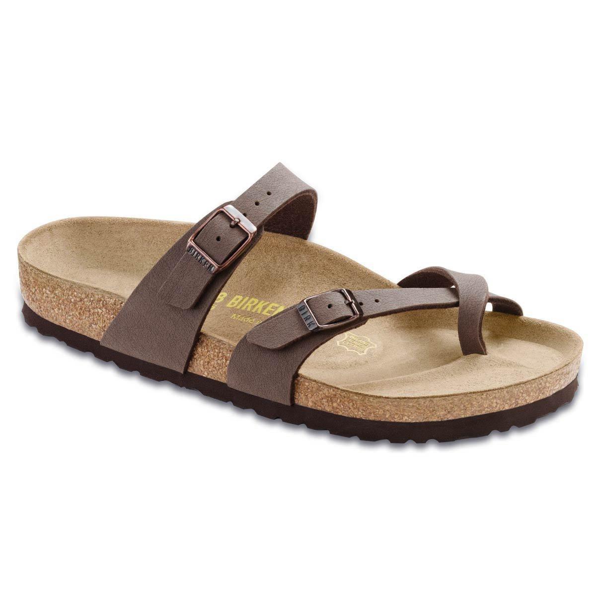 Birkenstock Women's Mayari Mocha Birkibuc Sandal 35 N (US Women's 4-4.5)