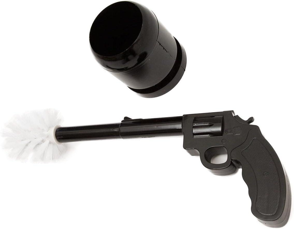 Goods /& Gadgets WC-B/ürste Pistole Toilettenb/ürste Klob/ürste Garnitur Pistolen Toilettenb/ürstengarnitur