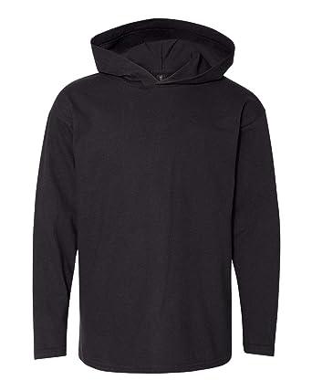 ef9970c5da3 Anvil Youth Long-Sleeve Hooded T-Shirt (987B) at Amazon Men s ...