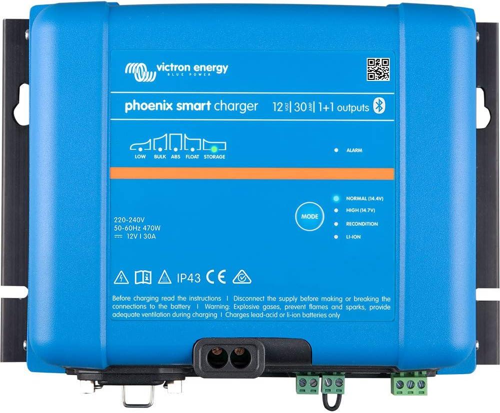 Cargador 12//30, 1+1, IP43, 230 V Victron Phoenix Smart