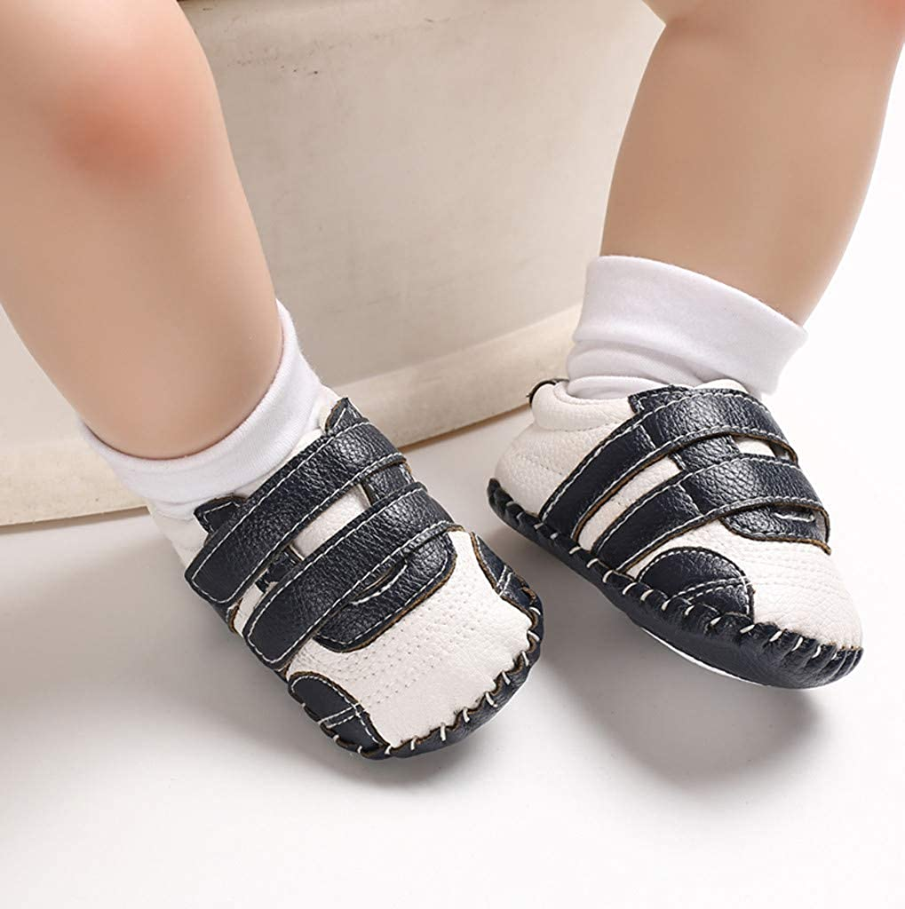 residentD ✮BabysToddler Shoes Infant Sneakers Soft Bottom Prewalker Non-Slip Soft Sole Gym First Walk Non-Slip Shoes