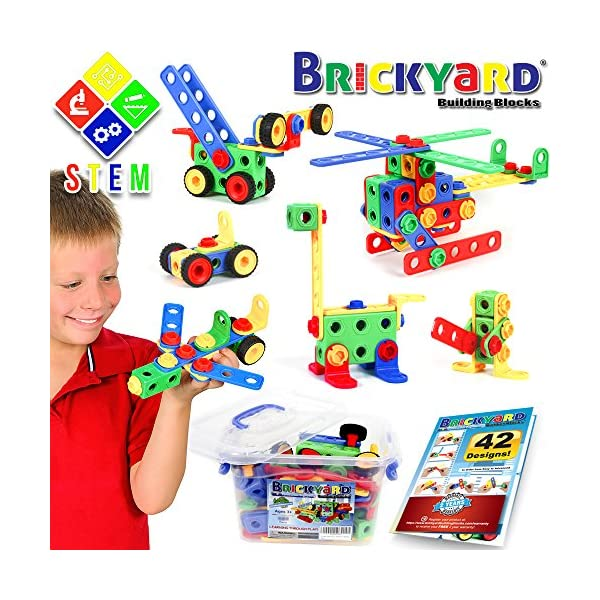 5e16d41dcfdb 101 Piece STEM Toys Kit